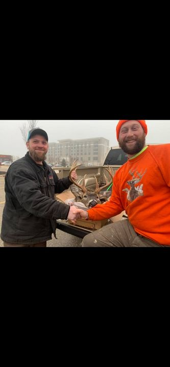 Another great northern Wisconsin buck mounted up. Thanks again Nick for the business and good luck this coming fall!